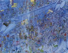 [OffTopic] Geof Darrow & Moebius, the City of Fire Portf