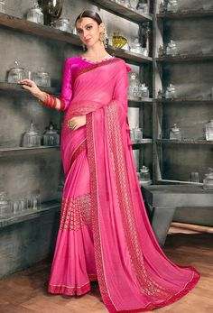 #Net #Sarees is one of the #best #indian #ethnic #dress, it is very #classic and #loved by the each and every #womens. #Nikvik is the #bestseller of #net #saree in #USA #AUSTRALIA #CANADA #UAE #UK New Fashion Saree, Pink Fashion, Net Blouses, Net Lehenga, Quality Lingerie, Trendy Sarees, Latest Designer Sarees, Indian Sarees Online, Work Sarees