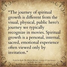 The Journey of Spiritual Growth ~  Conscious Soul Growth with Molly McCord - Modern Heroine's Journey