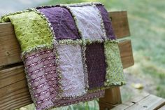 purple and olive throw - Google Search