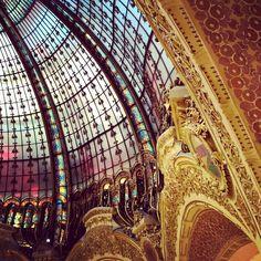 Shop until you drop! Galeries lafayette