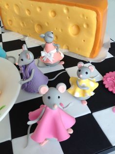 - mice and cheese