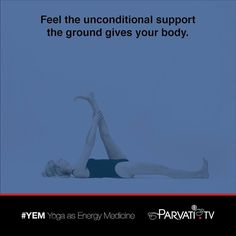 As you breathe in you are drawing the awareness into your body and on the exhale a deepening letting go into the ground. Allowing yourself to begin to feel the unconditional support that the ground gives your body. Beginning to let go of any habitual holding on in your body and allowing yourself to feel supported by the ground.  #parvati #positivepossibilitieslady #yem #yoga #yogaasenergymedicine #yogateacher #yogaquote #chigung #qigong #qi #energywork #energychannels #meridians #breathwork…