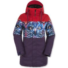Volcom Act Insulated Snowboard Jacket - Women\'s