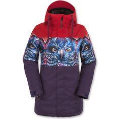 Volcom Act Insulated Snowboard Jacket - Women\'s