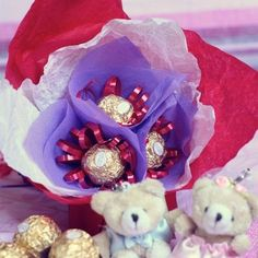 Gift bouquet sweets