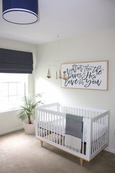 Nautical Nursery. Budget friendly nursery. Beach themed nursery. Boy or gender neutral or navy and white nursery.