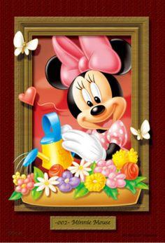 ◆希少品◆プチパズル204ピース:マジカルアートギャラリー ミニー《廃番商品》 - 組絵門(くみえもん)