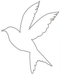bird outlines - Google Search | Craftiest | Bird outline ...