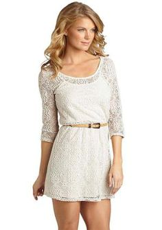 I am loving all white lace and crochet things...I need summer SO bad!!!!