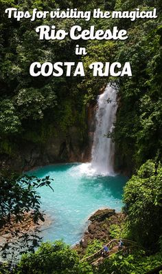 Tips for visiting the magical Rio Celeste, a sky blue river in Northern Costa Rica. Find out how to get there, what the trail is like, the points of interests and more. Also includes a never before seen aerial footage video! mytanfeet.com/...
