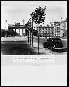 Das Brandenburger Tor und der Pariser Platz ca.1930