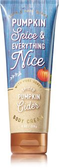 Maybe. 50% off, 6.75 or something.   Signature Collection Spiced Pumpkin Cider Body Cream - Bath And Body Works