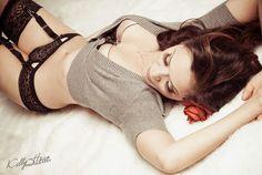 Pin-Up & Boudoir Photography - looks like a naughty teacher pose :)