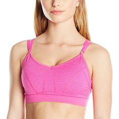 89b2a386abe9a Jockey Women s Excel Melange Stripe Sport Bra