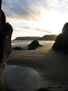 Caswell Bay by samsheep, via Flickr