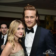 LOS ANGELES, CA - JANUARY 10: Sam Heughan attends HBO's post 2016 Golden Globe Awards party at Circa 55 Restaurant on January 10, 2016 in Los Angeles, California
