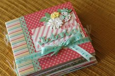 scrap & co: MIni album per Victoria