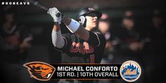 Oregon State Beaver Michael Conforto Drafted 10 overall to the NewYork Mets in the 2014 MLB Draft