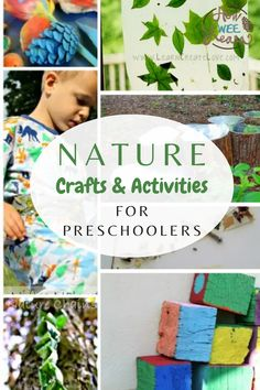 A GIANT list of ideas for nature crafts and activities for kids! There are nature art projects, fort building ideas, nature sensory activities, and lots of learning activities! Keep your kids outside all summer long with these fun nature activities. Nature Activities, Kids Learning Activities, Sensory Activities, Infant Activities, Building For Kids, Building Ideas, Seed Germination For Kids, Nature Story, Woodworking Projects For Kids