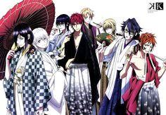 K project #anime #manga