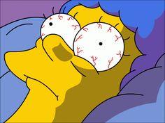 Marge Can't Sleep