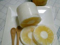 パイナップル寒天の画像
