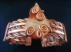Bracelete Ágata de Fogo