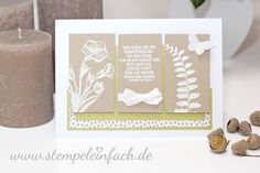 www.stempeleinfach.de - Schmetterlingsgruß - Stampin´ Up!