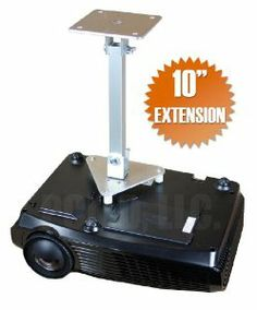 "PCMD All-Metal Projector Ceiling Mount with 10"" Extension for ViewSonic PJD5134 by PCMD, LLC.. $76.95. Projector ceiling mounts from PCMD, LLC. offers the consumer a quality ceiling mount at closeout prices. This projector ceiling mount can be rotated 360°, and pitched and rolled in any direction. The mounting plate is CNC machined for precise fitment and made from 6061-T6 aircraft grade aluminum. Unlike universal ceiling mounts, our projector ceiling mounts are specifica..."