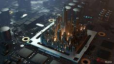 Circuit City by Seung_Ho_Henrik Holmberg | Realistic | 3D | CGSociety