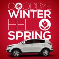 It's spring time! #KiaSportage