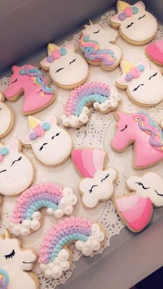 Unicorn cookies I did for a birthday party order! 2019 Unicorn cookies I did for a birthday party order! Unicorn cookies The post Unicorn cookies I did for a birthday party order! 2019 appeared first on Birthday ideas. Unicorn Themed Birthday Party, Unicorn Birthday Parties, First Birthday Parties, Birthday Party Decorations, First Birthdays, 5th Birthday, Birthday Ideas, Unicorn Party Decor, Baby Girl Birthday Cake