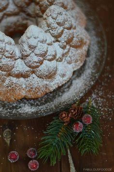 Weihnachtlicher Vanillekuchen Christmas Vanilla Cake