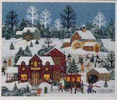 Jane Wooster Scott: A Winter Long Ago  (I love her art work)