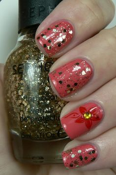 Let them have Polish!: Jordana Tangy & Sephora by O.P.I Only Gold for Me
