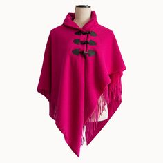 Redcurrent Wool Cape - A great gift for Mother's Day