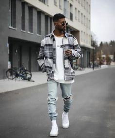 Cool Outfits For Men, Stylish Mens Outfits, Trendy Mens Fashion, Urban Style Outfits Men, Street Style Outfits Men, Winter Outfits Men, Fashion Men, Street Styles, Mode Streetwear