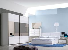 Beyaz Buhara Yatak Odası » Odam Mobilya Kalitesiyle
