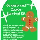 This Gingerbread Boy Holiday unit has Lesson Plans and Activities that ...