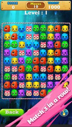 App Shopper: Monster Splash Heroes-Addictive Match 3 Swaping Game (Games)