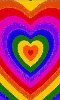 Rainbow heart 🌈❤️