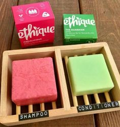 We've had a few people ask what shampoo bars to buy apart from lush. Ethique… We've had a few people ask what shampoo bars to buy apart from lush. Ethique is another fantastic brand you can purchase online, they… Free Planet, No Waste, Reduce Waste, Reduce Reuse Recycle, Idee Diy, Sustainable Living, Sustainable Products, Eco Friendly Products, Eco Products