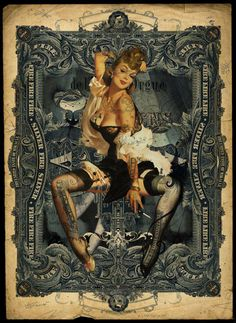 Pin-Up Collage by HandieDan