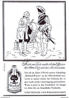 Original-Werbung/ Anzeige 1942 - FARINA KÖLNISCH WASSER  - ca. 100 x 140 mm