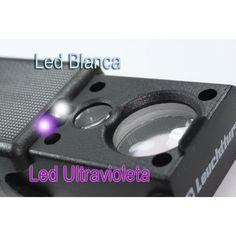 Stunning Lupas especiales Lupa Triplet Plegable x LED Lux Ultravioleta