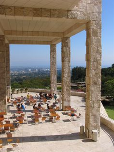 Getty Center by Rebeca Manning