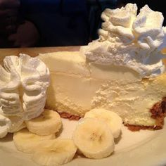 Banana Cream Cheesecake | US RECIPE . . SCROLL all the Way to bottom of page for recipe. Delicious.