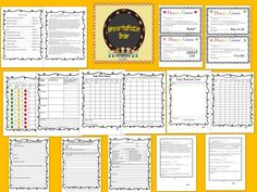 This is a behavior modification binder with all you will need to help improve behavior in a positive way, can be used for Special Education and grades K-8 This is a growing bundle, if you think of anything else that you would like to see added, please let