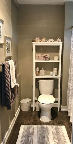 Over The Toilet Leaning Ladder Shelf Choose Stain Paint